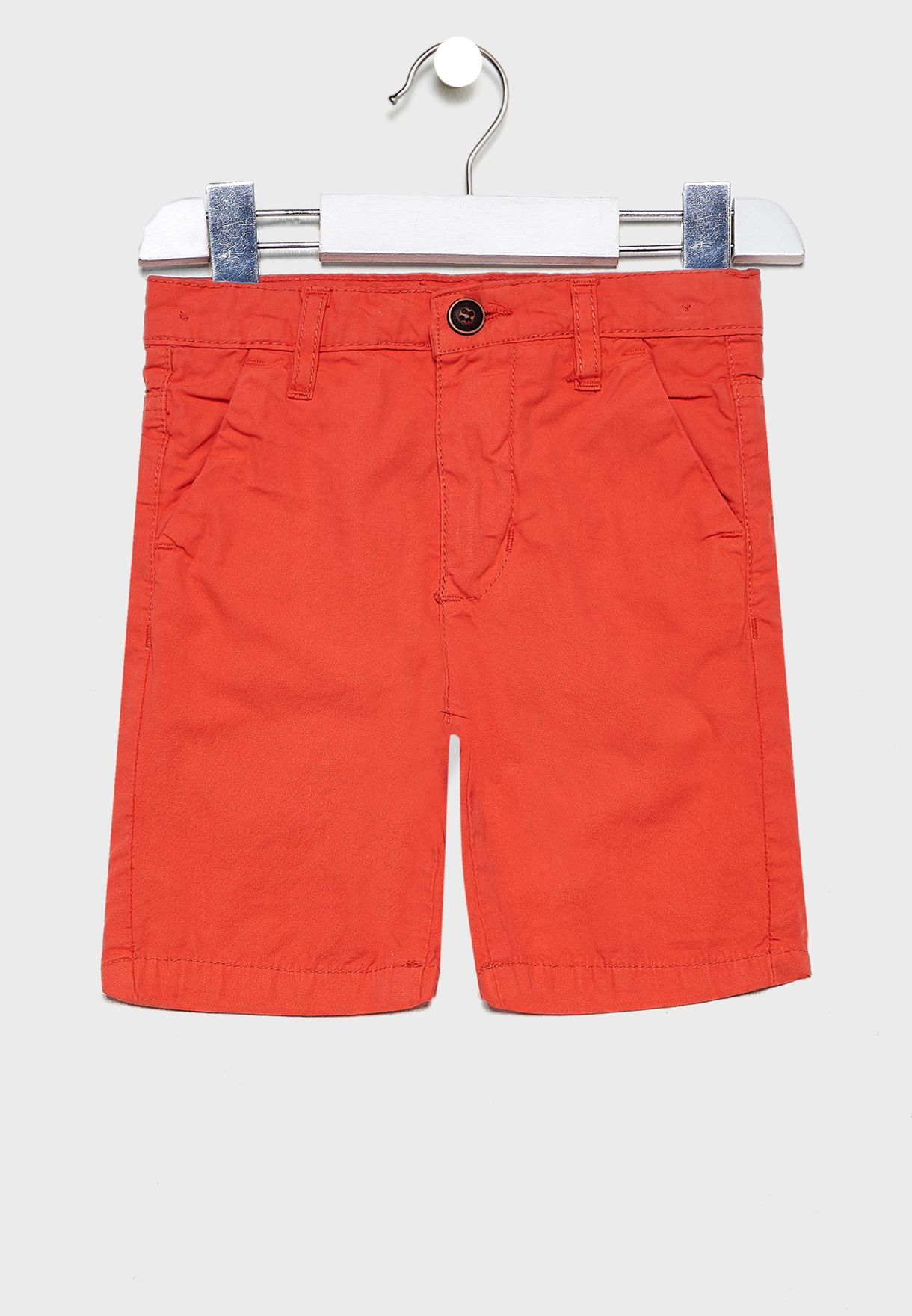 Little Roll Hem Chino Shorts