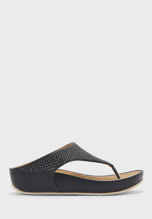 Y Shape Wedge Sandal