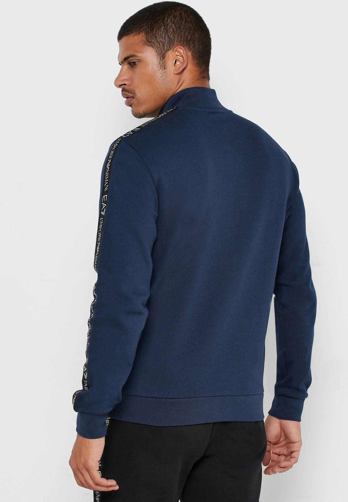 Logo Series Taped Sleeve  Jacket