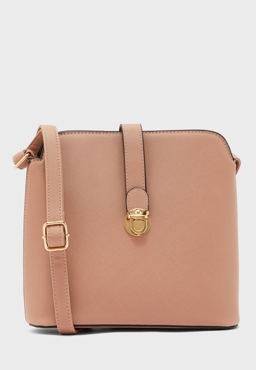 Dressberry Zip Closure Crossbody