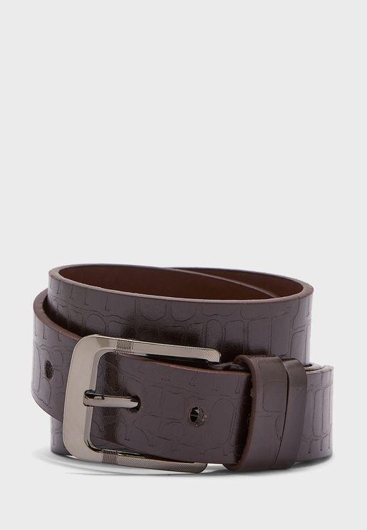 حزام خصر جلد حيوان