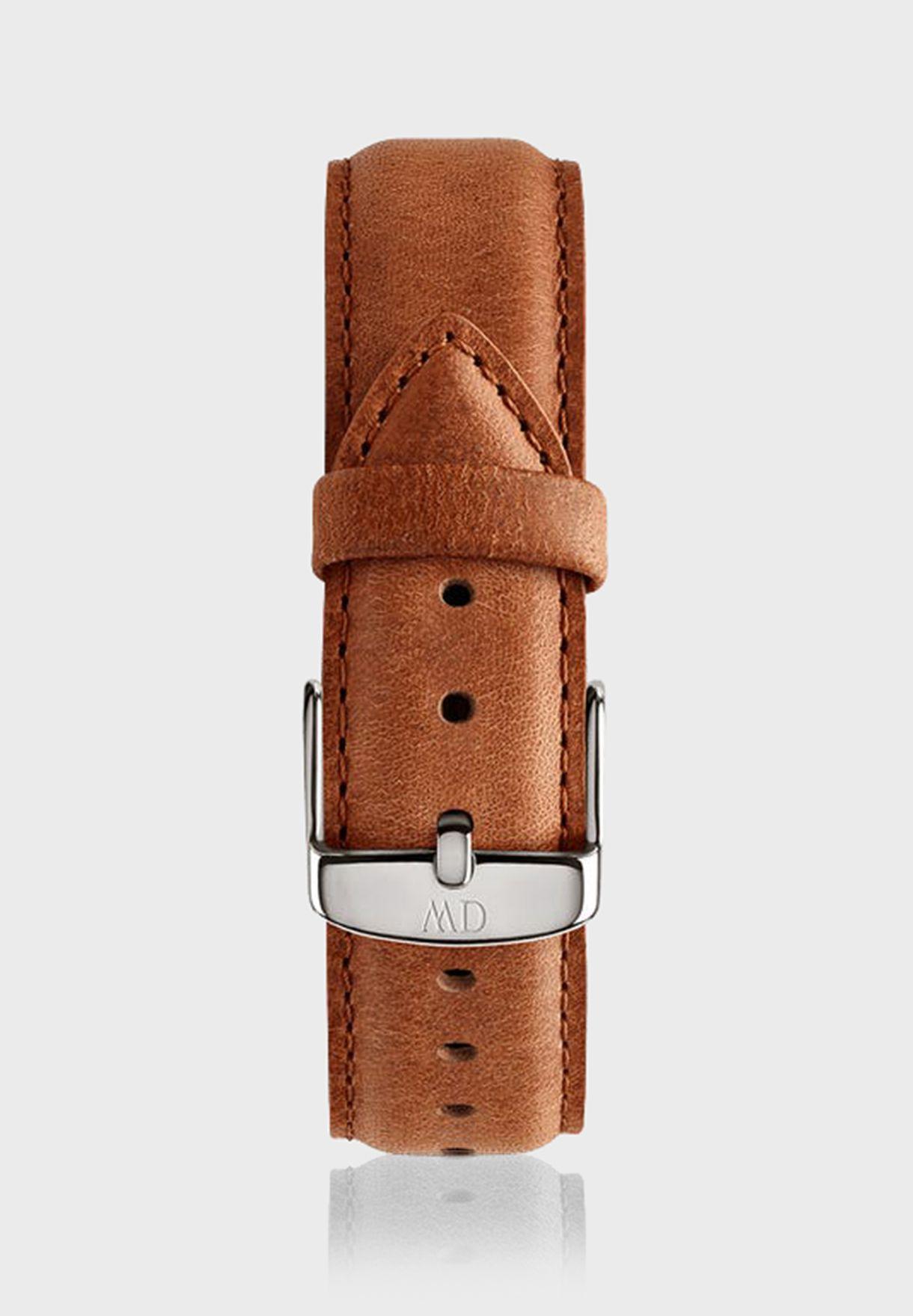 حزام ساعة جلد اصلي