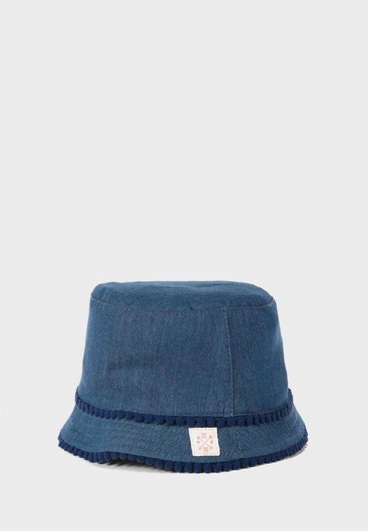 Kids Denim Bucket Hat