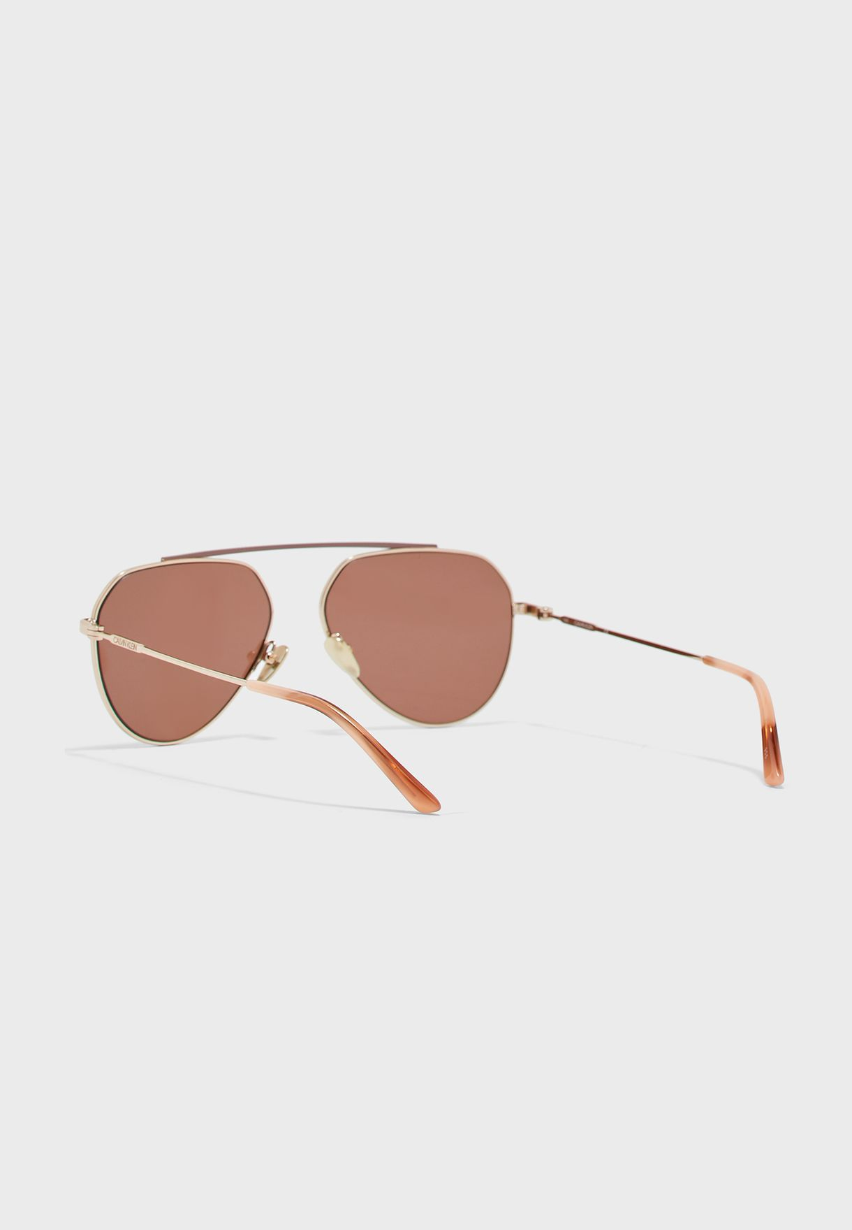 CK19147S Brow Bar Oversized Aviator
