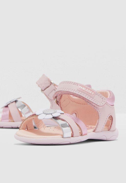 Infant Floral Detail Sandal