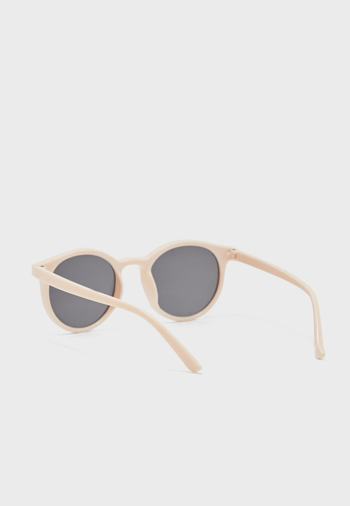 Rounded Lens Sunglasses