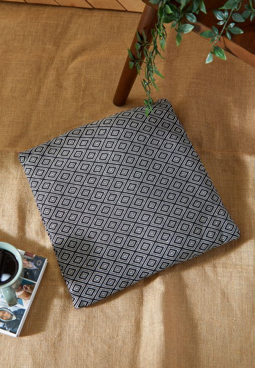 Black Aztec Print Cushion 45*45