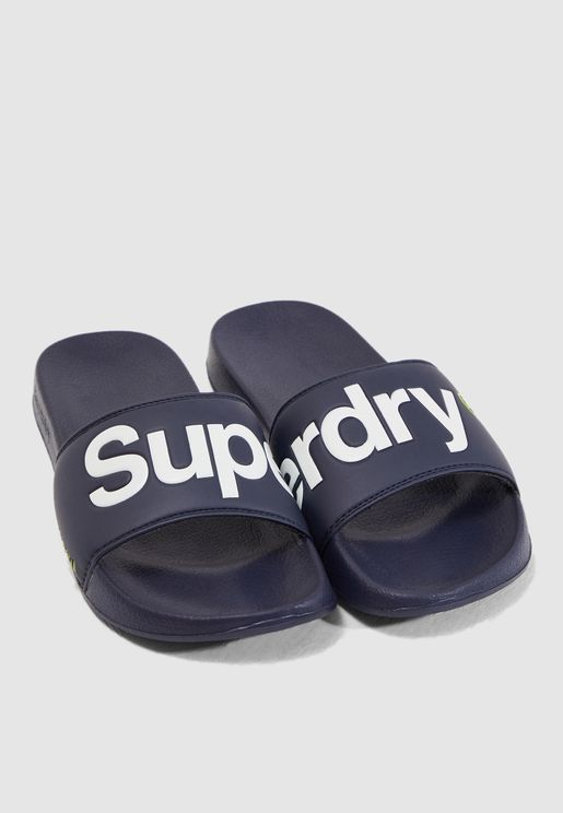 Logo Pool Slides