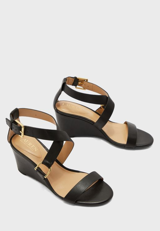 Chadwell Ankle Strap Wedge Sandal