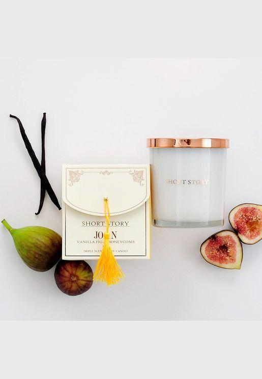 Joan Vanilla, Fig & Honeycomb Candle