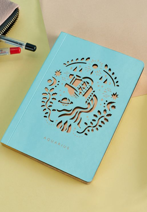 دفتر ملاحظات برج الدلو A6