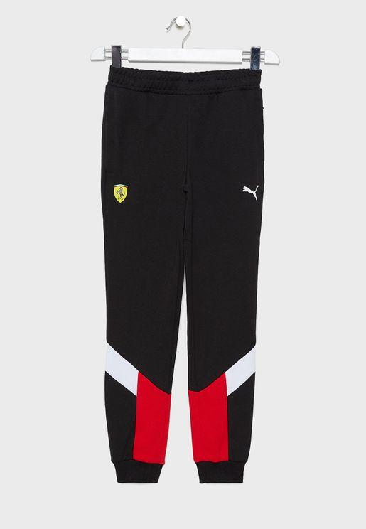 Kids Ferrari Race MCS Sweatpants
