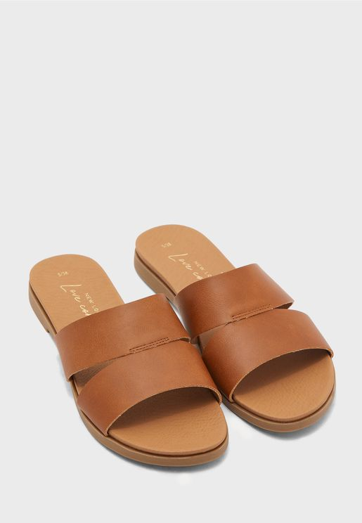 Flyer Comfy Footbed Flat Sandal