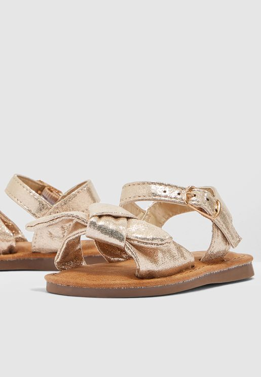 Bow Tie Strap Sandal