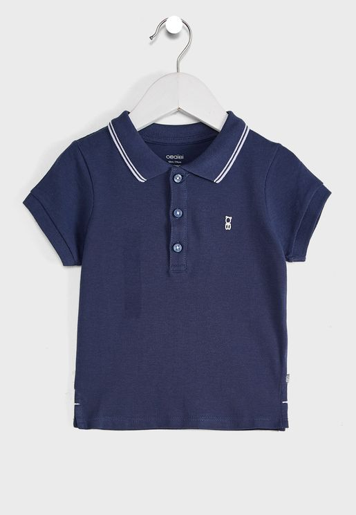 Infant Tipped Polo