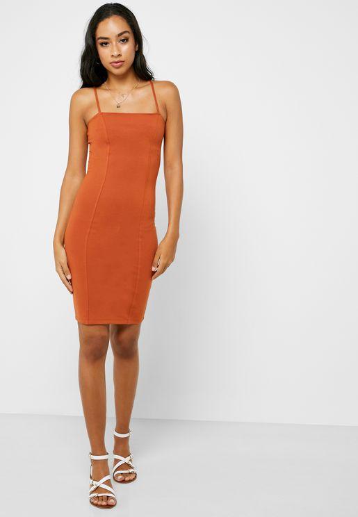 Square Neck Cami Dress