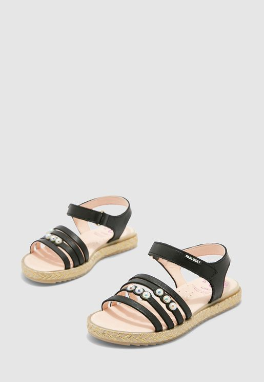 Youth Pearl Detail Sandal