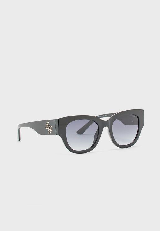 نظارة شمسية بعدسات بيضوية الشكل