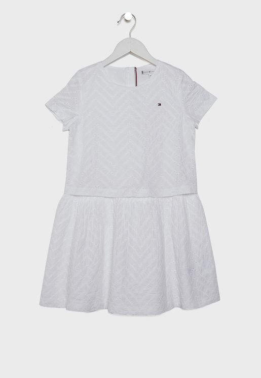 Teen Broderie Anglaise Dress