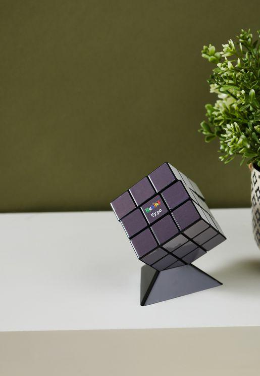 3X3 Monochrome Rubik Cube