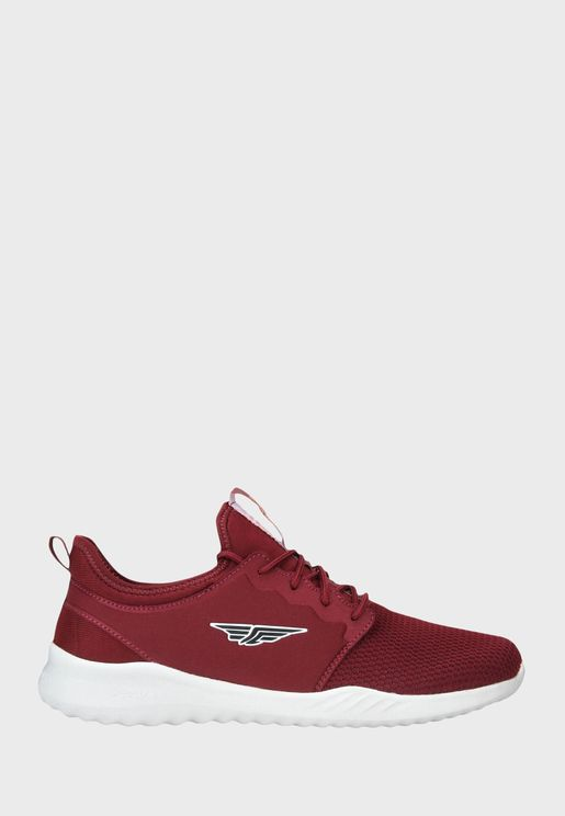 Logo Mesh Low Top Sneaker