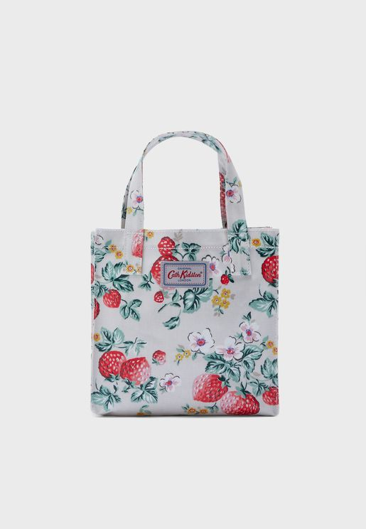 Wild Strawberry Small Shopper