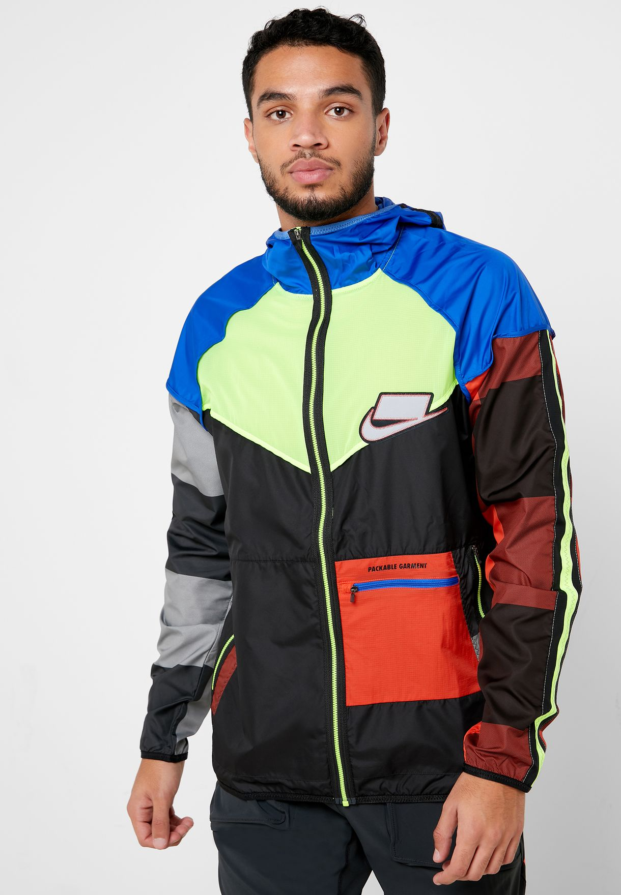 nike multicolor jacket