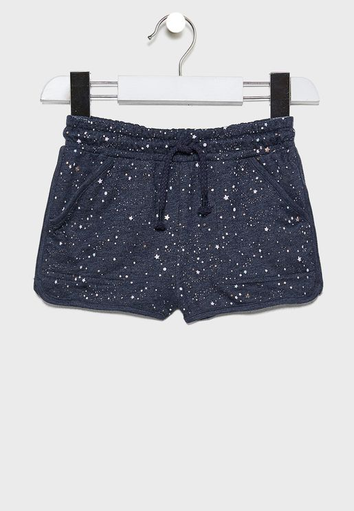 Kids Nina Knit Shorts