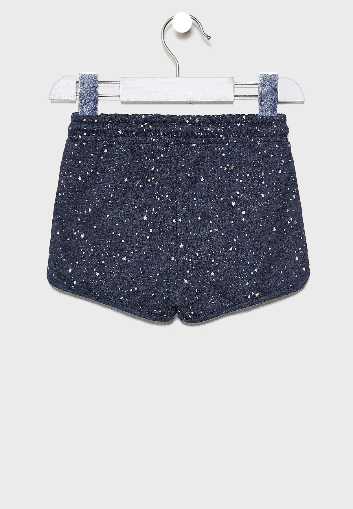 Kids Nina Knit Shorts