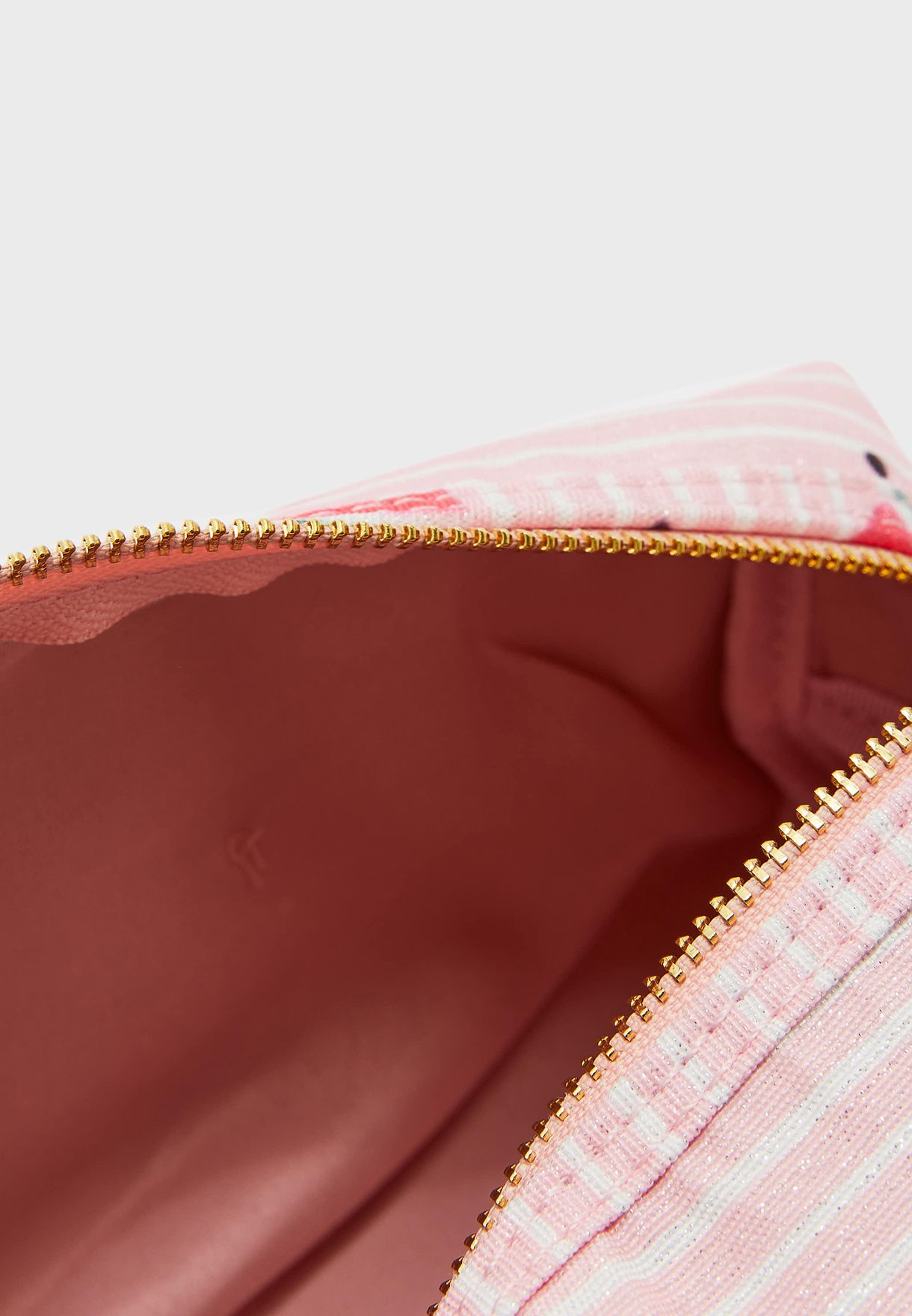 Watermelon Print Cosmetic Bag