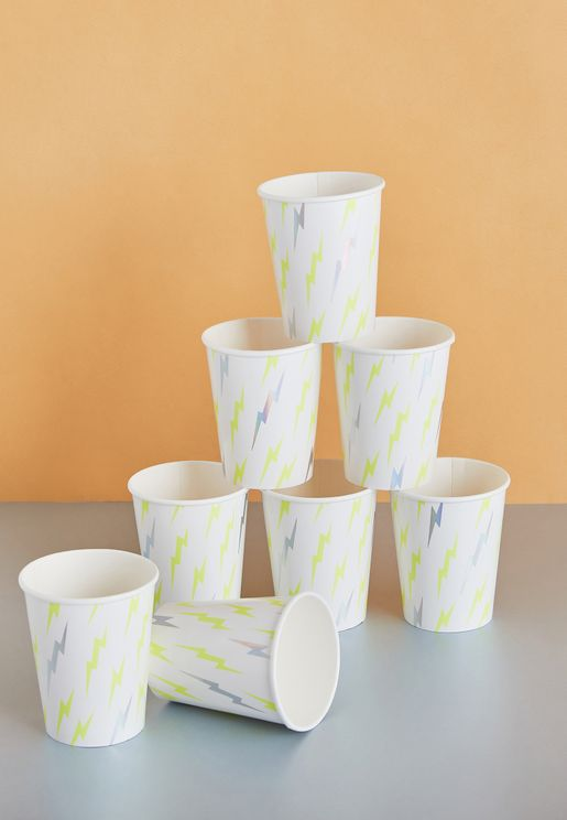 Superhero Party Cups 8 Pack