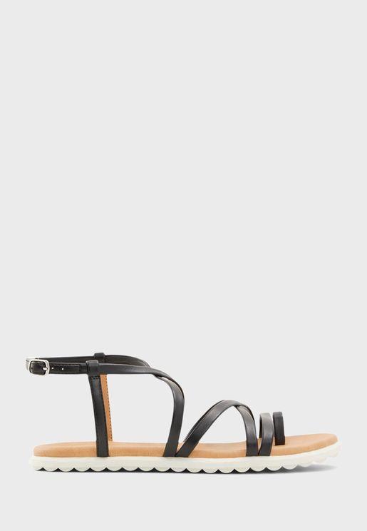Zinnia Flat Sandals