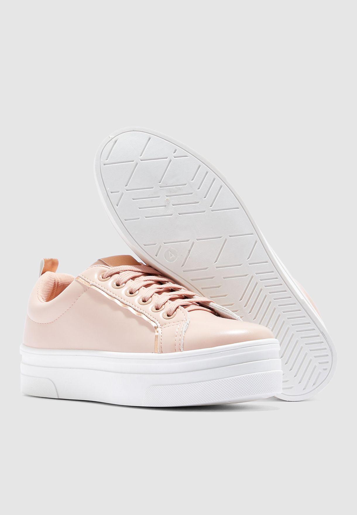 Mositivity Low Top Sneaker - Oatmeal