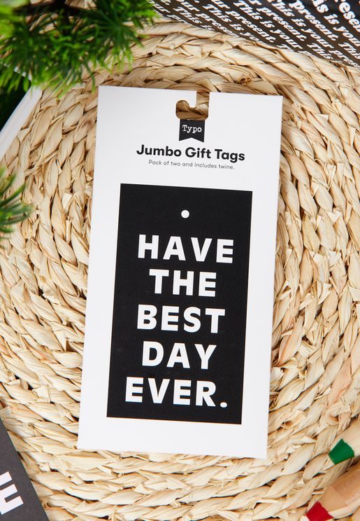 2 Pack Have The Best Day Ever Gift Tag