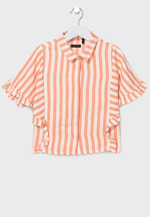 Youth Stripped Shirt