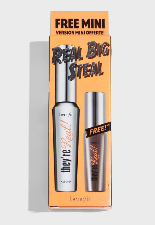 They're Real Mascara Set