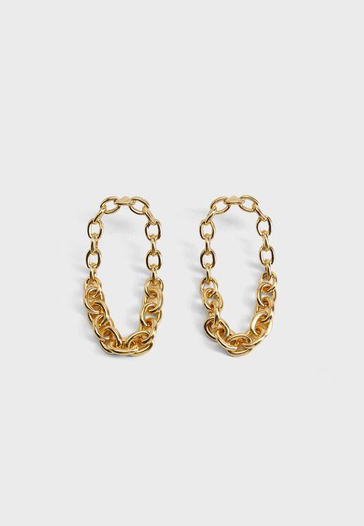 Blancas Chain Drop Earrings