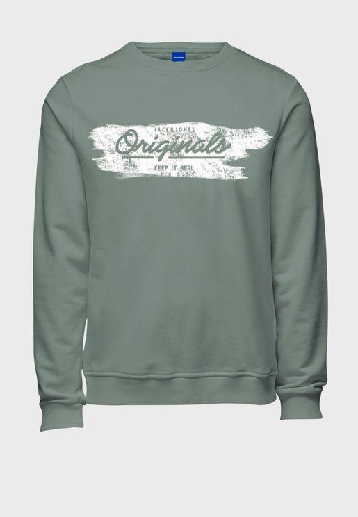 Logo Regular Fit Sweatshirt