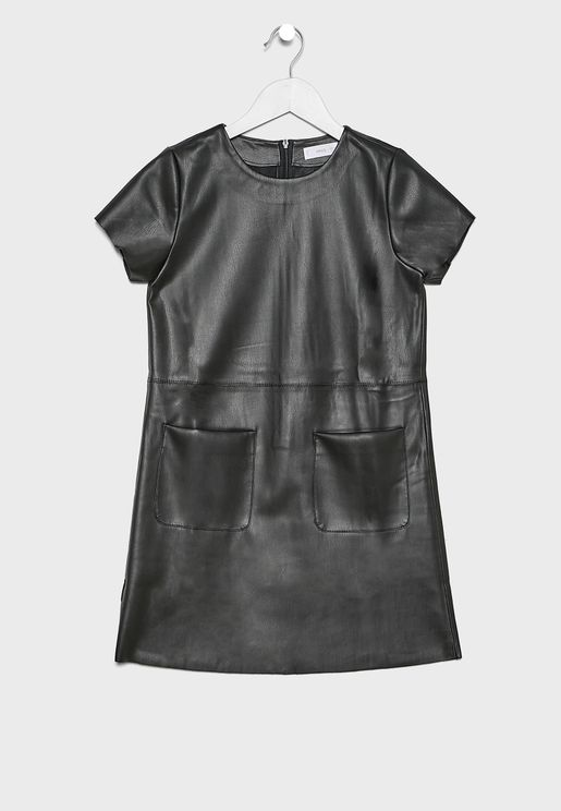 Kids Pocket Detail Dress