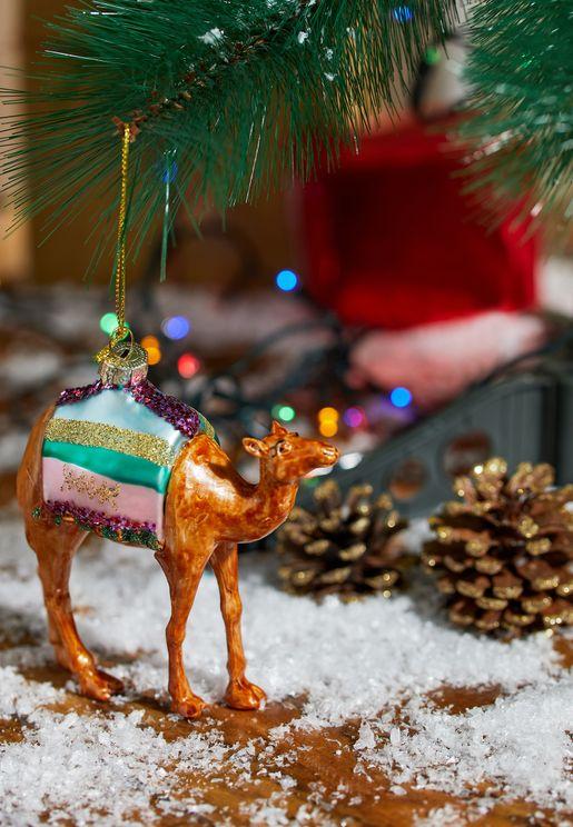 Camel Festive Ornament