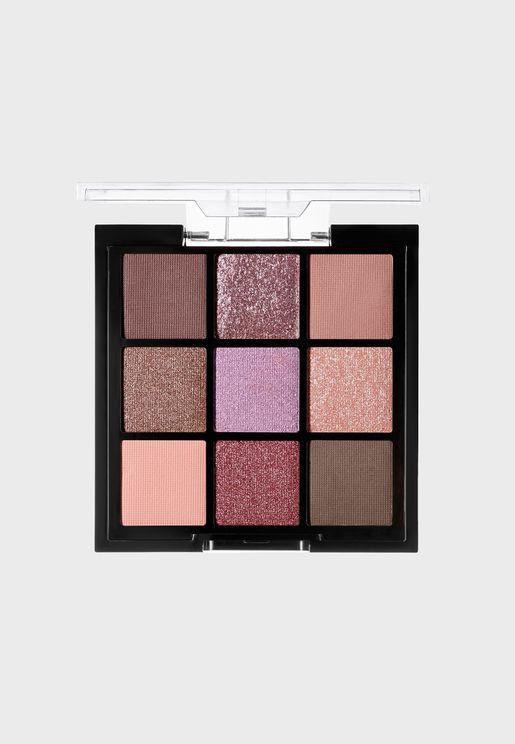 9 Shade Eyeshadow Palette - Mauves
