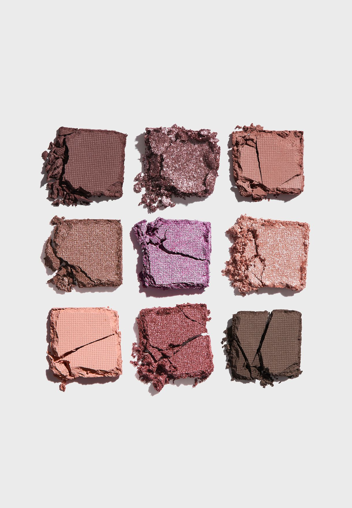 9 Shade Eyeshadow Palette - Mauves