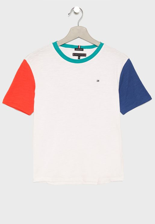 Teen Color Block T-Shirt