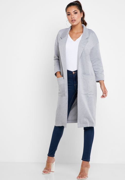 Longline Pocket Coat