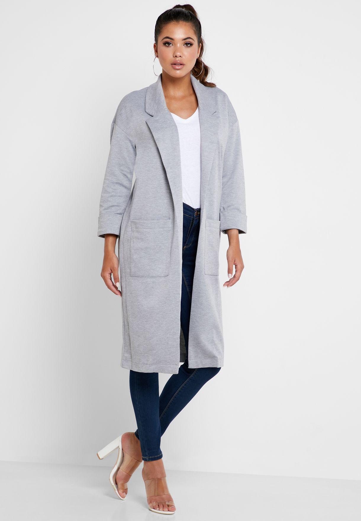 Longline Pocket Coat
