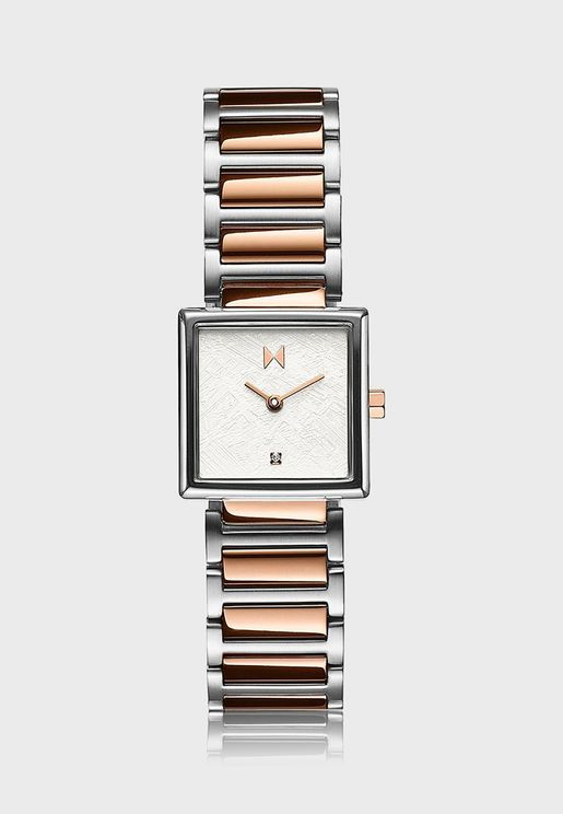 Frost Square Analog Watch
