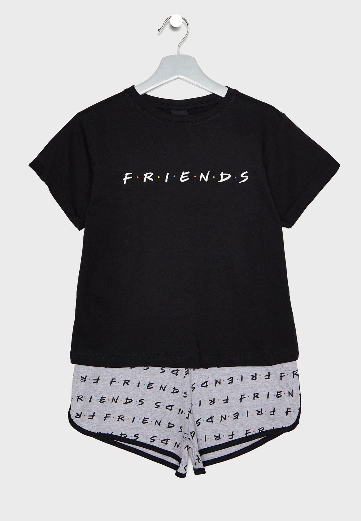 Teen F.R.I.E.N.D.S. Short Pyjama Set
