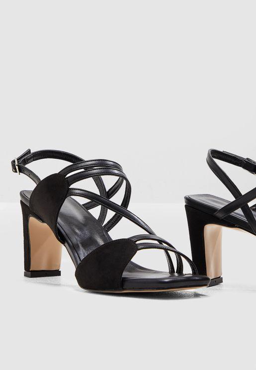 Square Heel Sandal