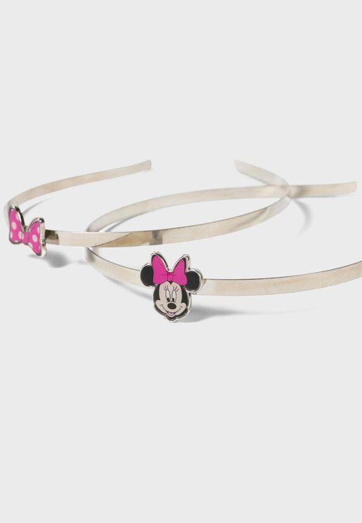 Kids 2 Pack Minnie Headband