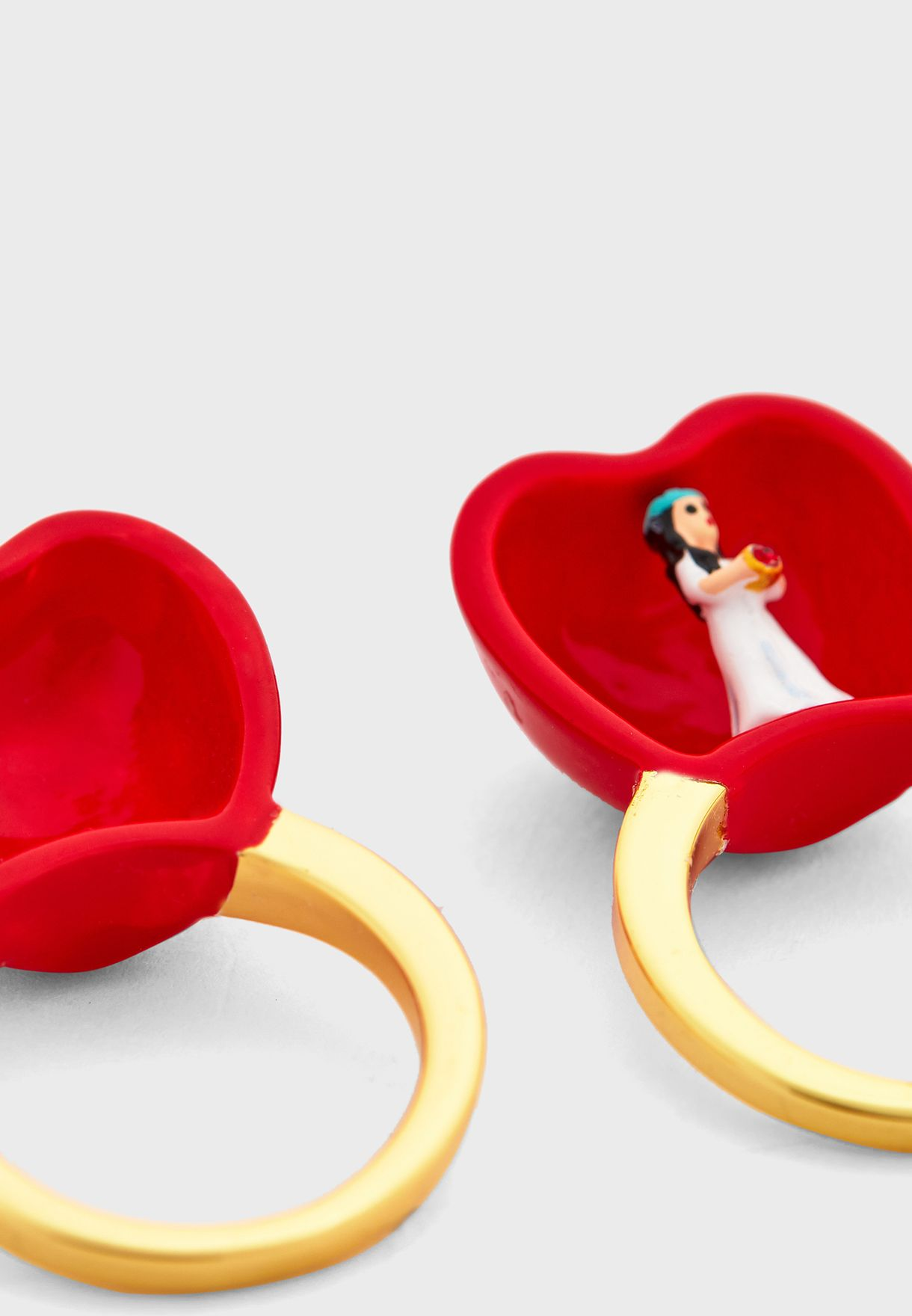 Apple Double Band Ring